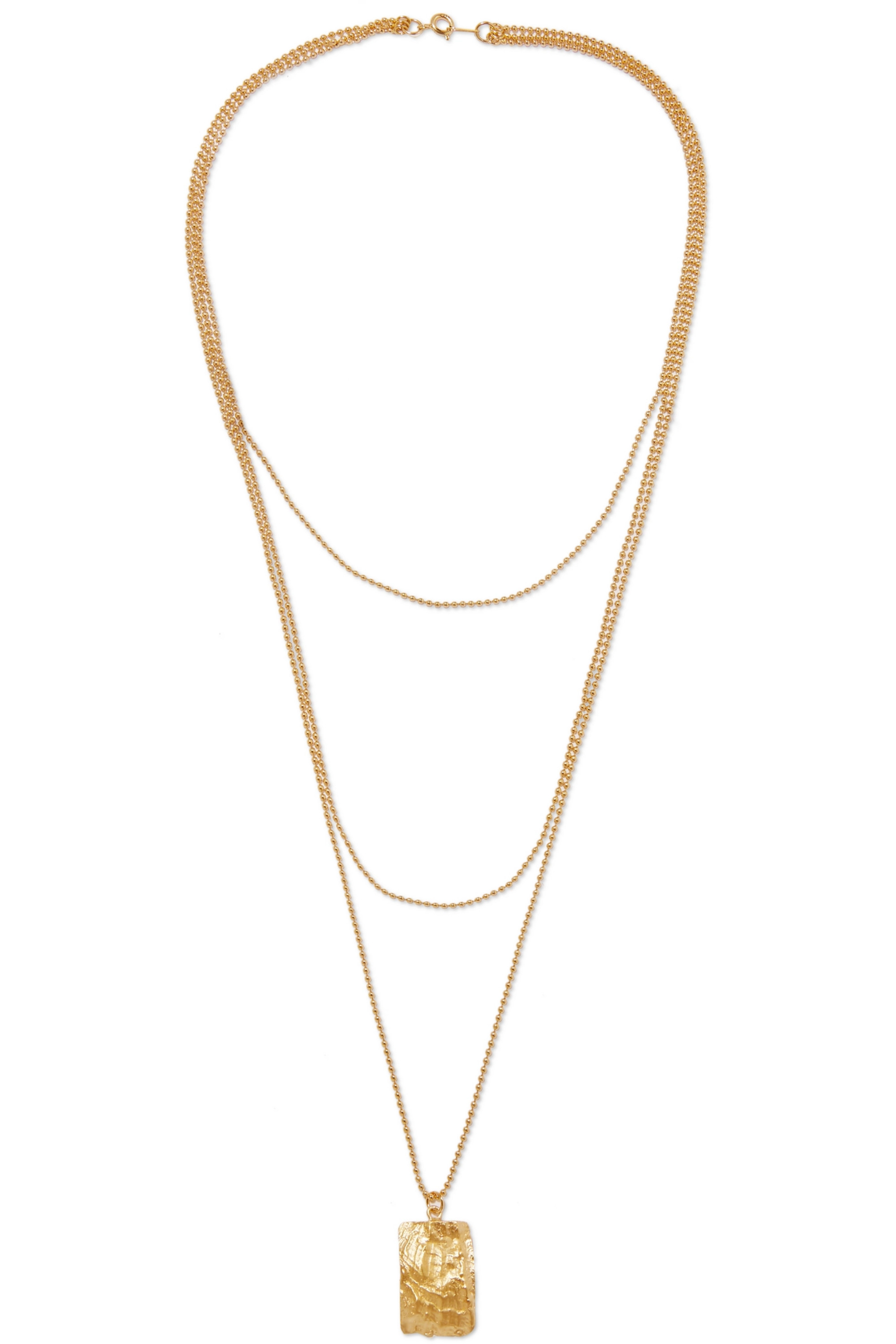 1064 Studio Gold-plated necklace
