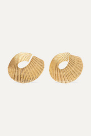 1064 Studio Gold-plated earrings
