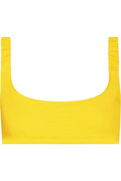 FISCH Colombier Bikini Top in Yellow