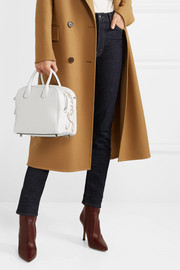 Christian Louboutin Marie Jane small appliquéd leather tote