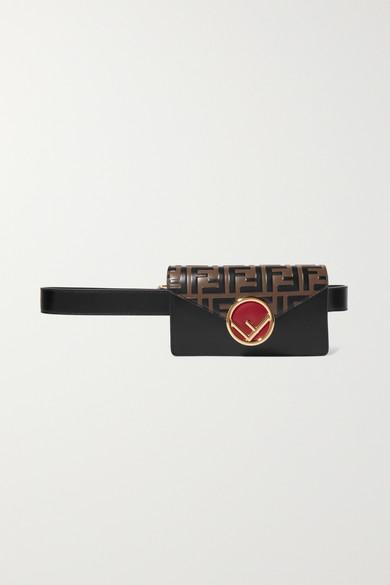 71dbd8cf5b Embellished embossed leather belt bag