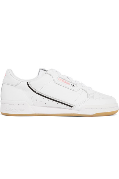 + TFL Continental 80 canvas trimmed leather sneakers