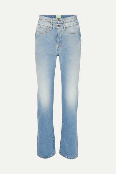 Lilly High Rise Straight Leg Jeans by Aries