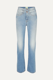 Lilly high-rise straight-leg jeans