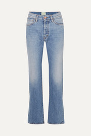 Aries Lilly high-rise straight-leg jeans