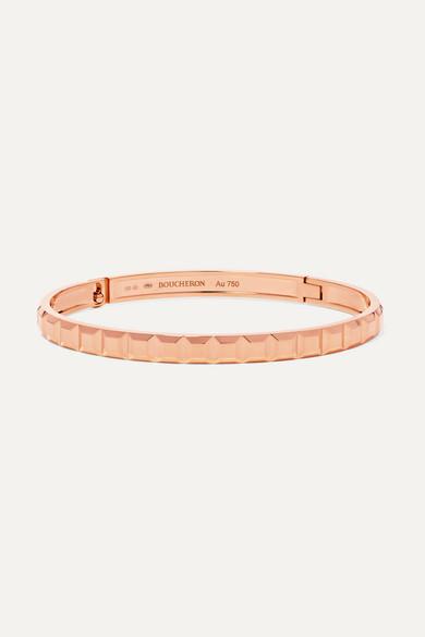 Boucheron Quatre Clou De Paris 18-karat rose gold bracelet