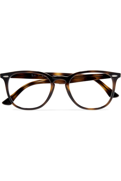 c36512f36f Ray-Ban. Round-frame tortoiseshell acetate optical glasses