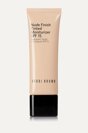 Nude Finish Tinted Moisturizer LSF 15 – Light Tint – Getönte Tagescreme