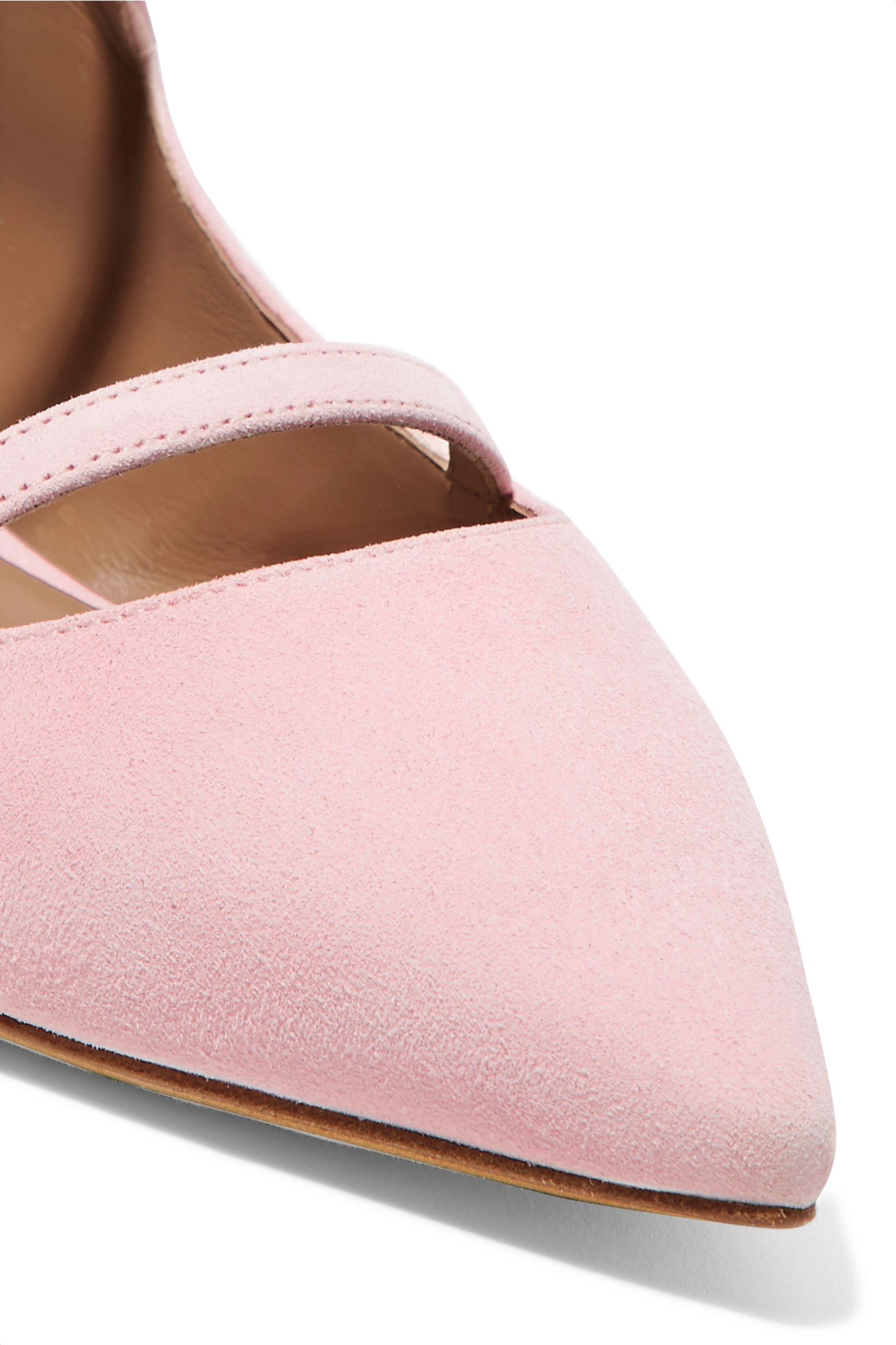 Equipment Lynette suede point-toe flats