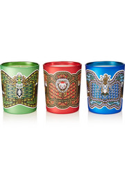 Légende Du Nord set of three scented candles, 3 x 190g