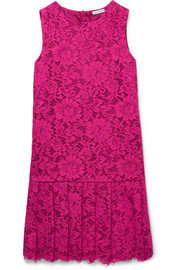 Ages 8 - 12 pleated lace dress