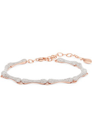 Nura rose gold vermeil diamond bracelet