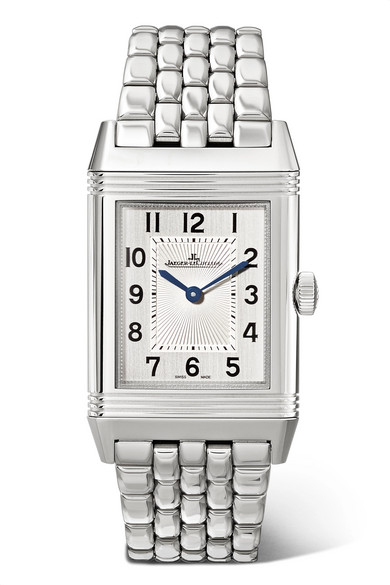 JAEGER-LECOULTRE Reverso Classic Thin 24.4Mm Medium Stainless Steel Watch in Silver