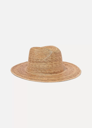 LACK OF COLOR Palma Straw Fedora in Tan