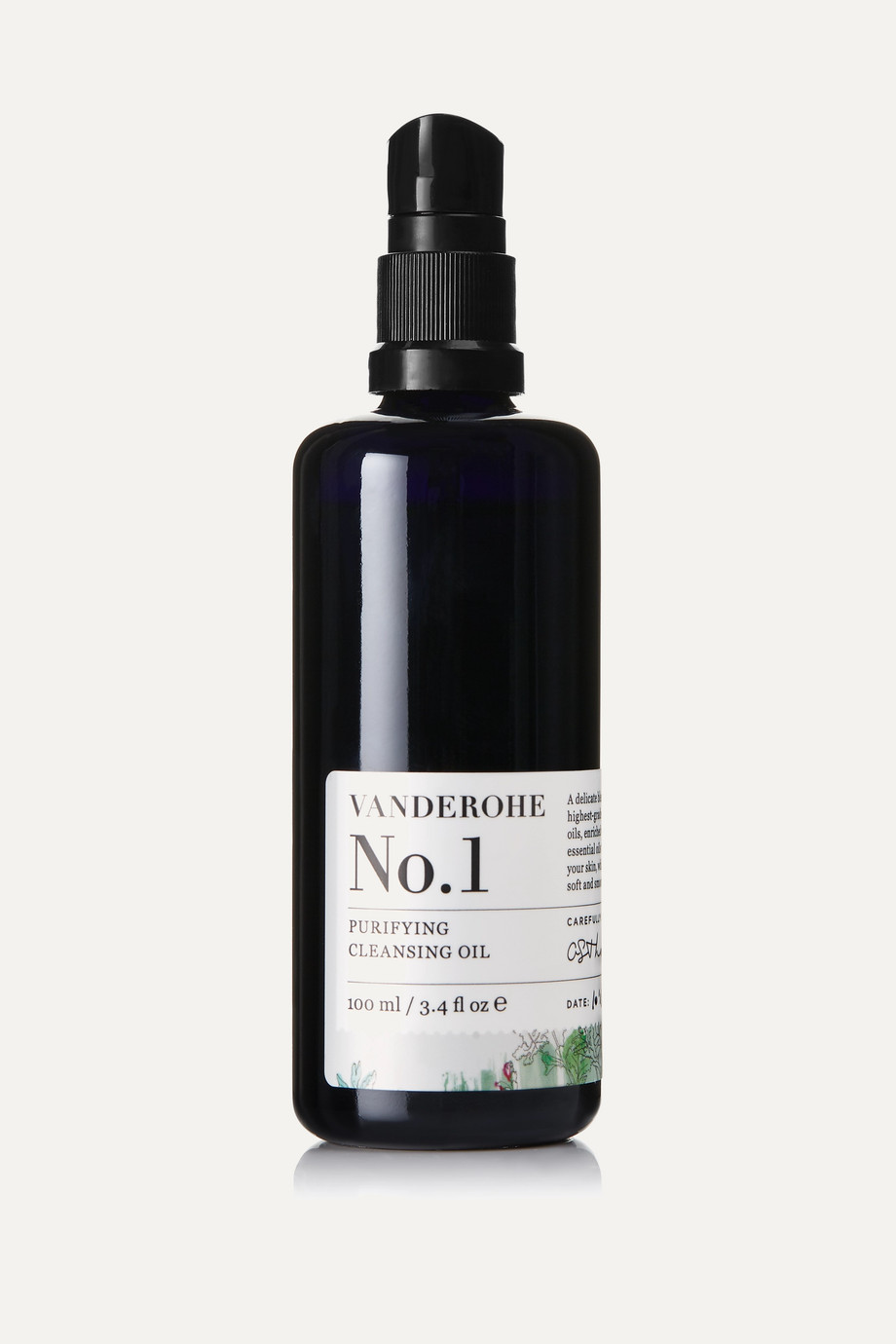 Vanderohe No.1 Purifying Cleansing Oil, 100ml