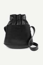 TL-180 Marcello textured-leather bucket bag