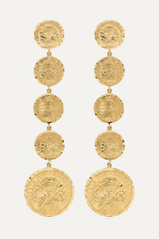 Anissa Kermiche Louise D'Infinie 18-karat gold earrings
