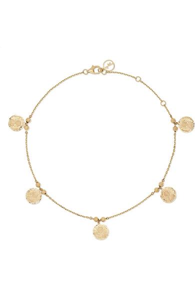 Anissa Kermiche Accessories LOUISE D'OR 14-KARAT GOLD ANKLET