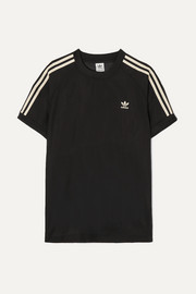 adidas Originals Striped organza T-shirt