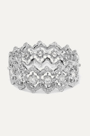 Rombi Eternelle 18-karat white gold diamond ring
