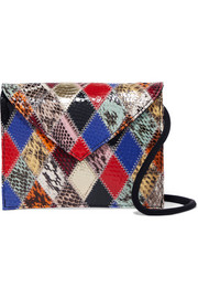 Pen Pal patchwork elaphe belt bag