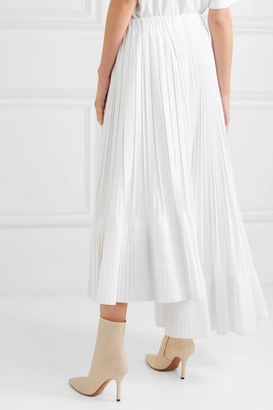 e1f7a2d610 Brunello Cucinelli. Asymmetric pleated crepe de chine maxi skirt. £1,115.  Play