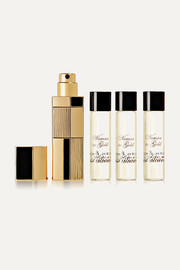 Woman In Gold Travel Set - Eau de Parfum and Refills, 4 x 7.5ml