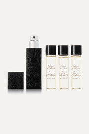 Back to Black Travel Set - Eau de Parfum and Refills, 4 x 7.5ml