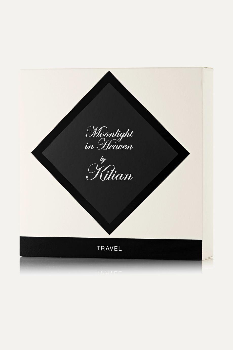 Kilian Moonlight in Heaven Travel Set – 4 x 7,5 ml – Set aus Eaux de Parfum und Zerstäuber