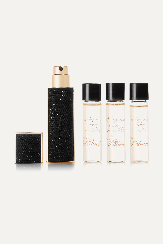 Kilian Voulez-Vous Coucher Avec Moi Travel Set - Eau de Parfum and Refills, 4 x 7.5ml