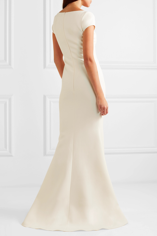 Safiyaa Crepe gown