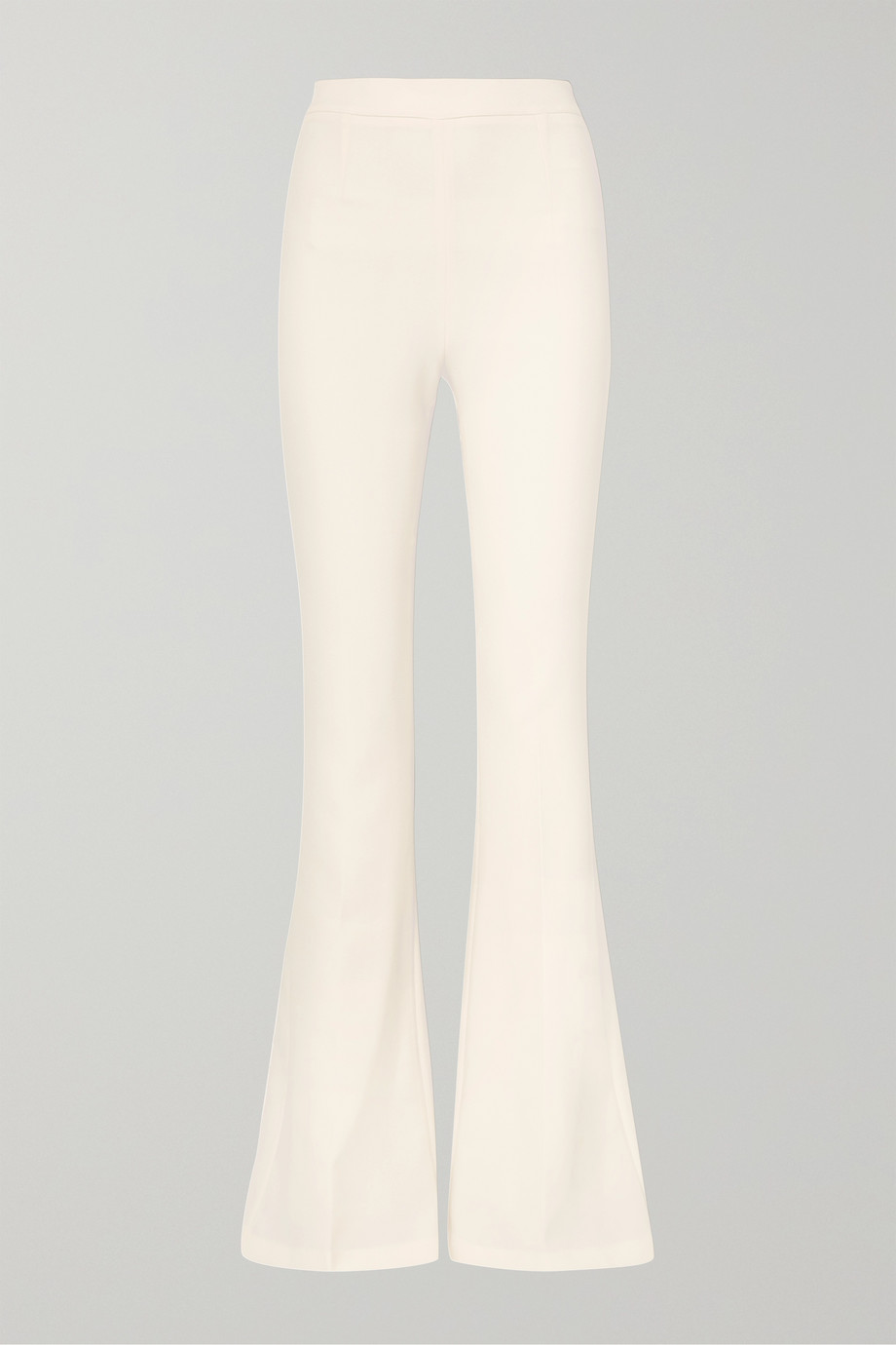 Safiyaa Halluana stretch-crepe flared pants