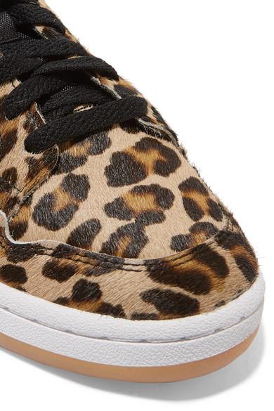 0f50b99613f adidas Originals. Continental 80 leopard-print calf hair sneakers. £110.00.  Zoom In