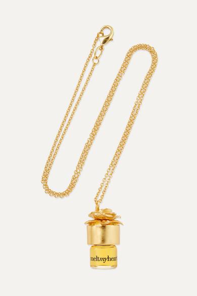 STRANGELOVE NYC Perfume Oil Necklace - Meltmyheart, 1.25Ml