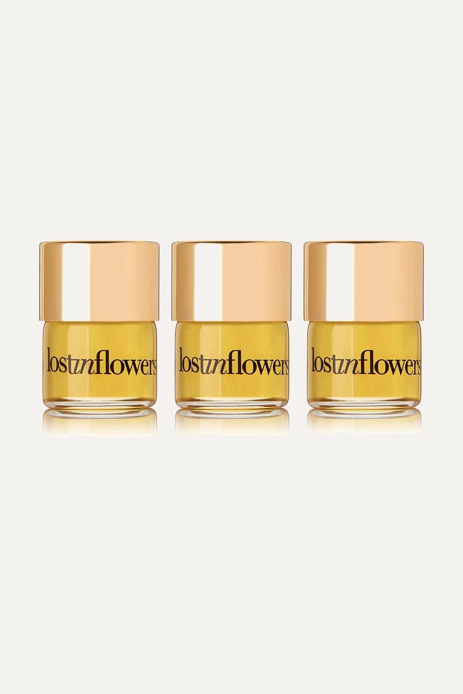 strangelove nyc Perfume Oil Travel Set - lostinflowers, 3 x 1.25ml