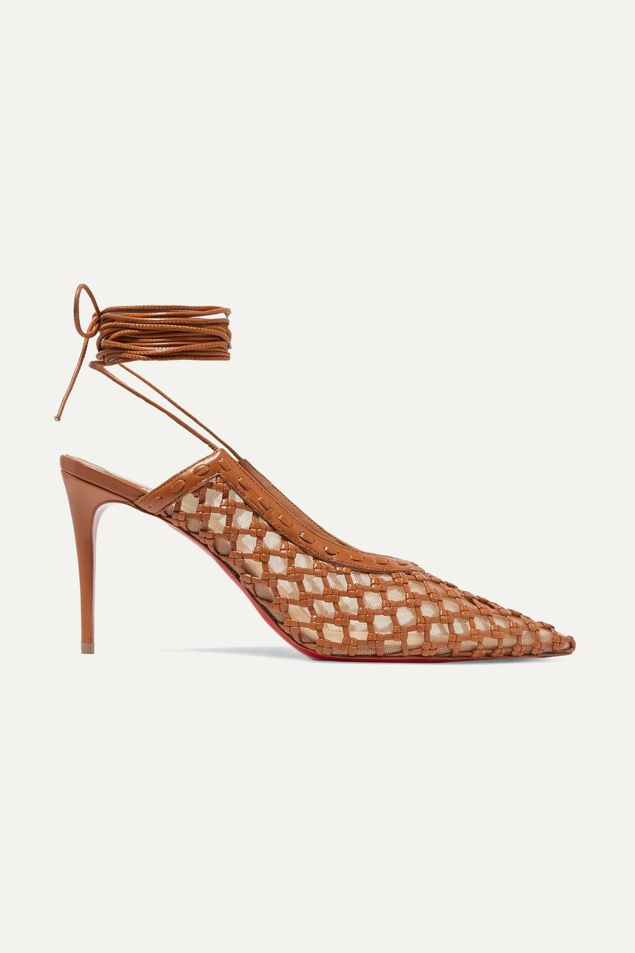 + Roland Mouret Cage and Curry mesh and woven leather pumps by Net-a-porter, available on net-a-porter.com for $1095 Kylie Jenner Shoes Exact Product