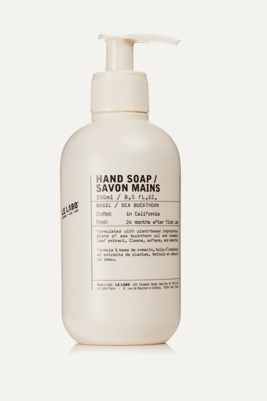 Le Labo Basil Hand Soap, 250 ml – Handseife