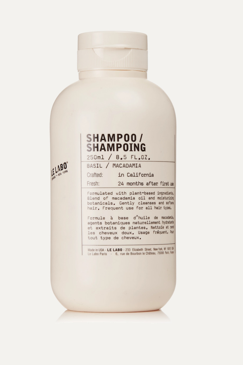 Le Labo Shampoo - Basil, 250ml