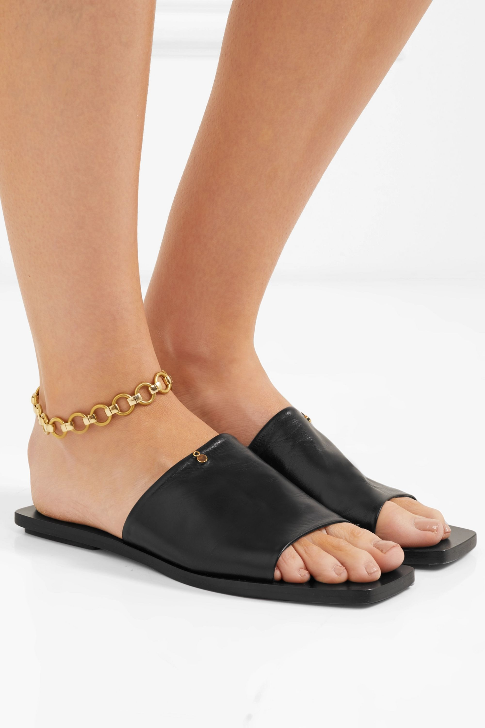 Laura Lombardi Gold-tone anklet
