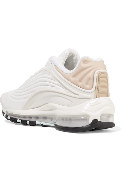 Nike | Air Max Deluxe SE leather and mesh sneakers | NET A