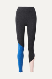 We/Me The Synergy color-block stretch-jersey leggings