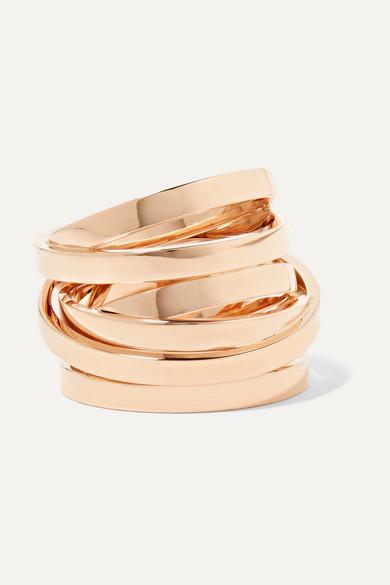Repossi Technical Berbère 18-karat rose gold ring
