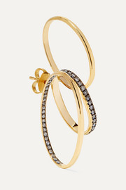 Doxa 18-karat gold diamond earring