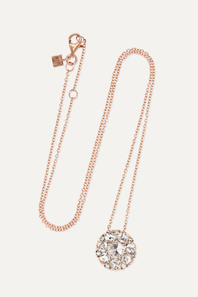 Selim Mouzannar - Beirut 18-karat Rose Gold Diamond Necklace - one size