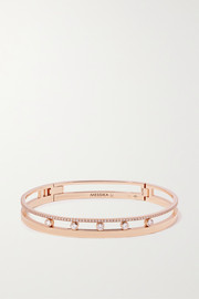 Move Romane 18-karat rose gold diamond bangle