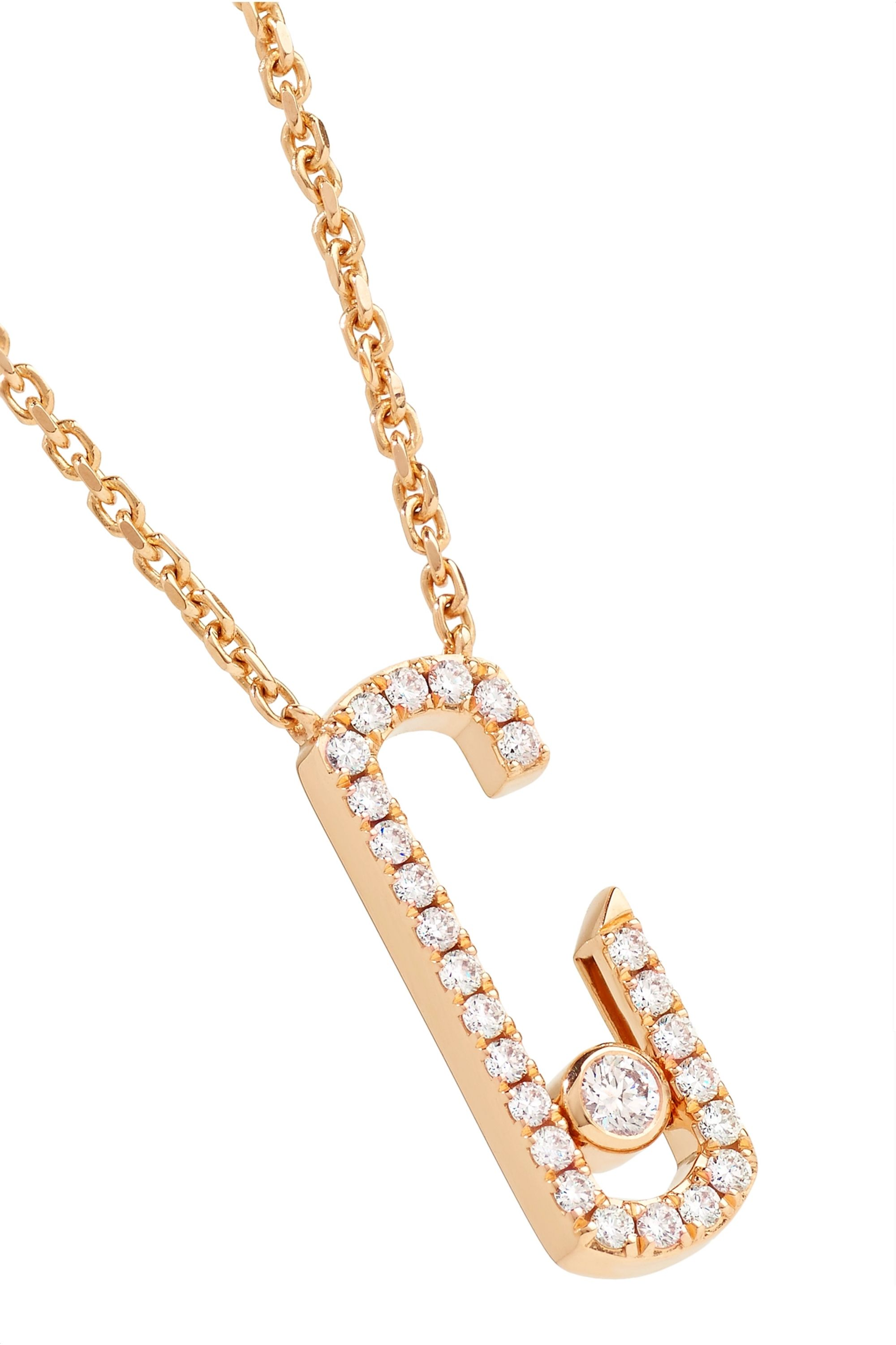 Messika + Gigi Hadid Move Addiction 18-karat rose gold diamond necklace