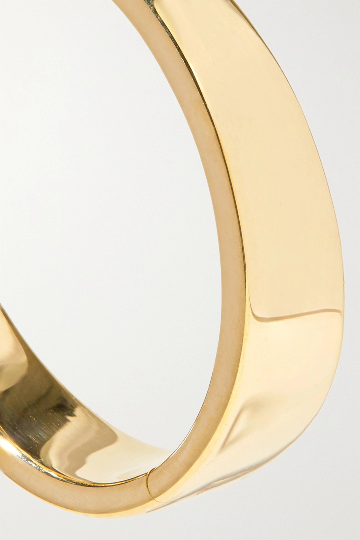 Anita Ko Meryl 18-karat gold hoop earrings