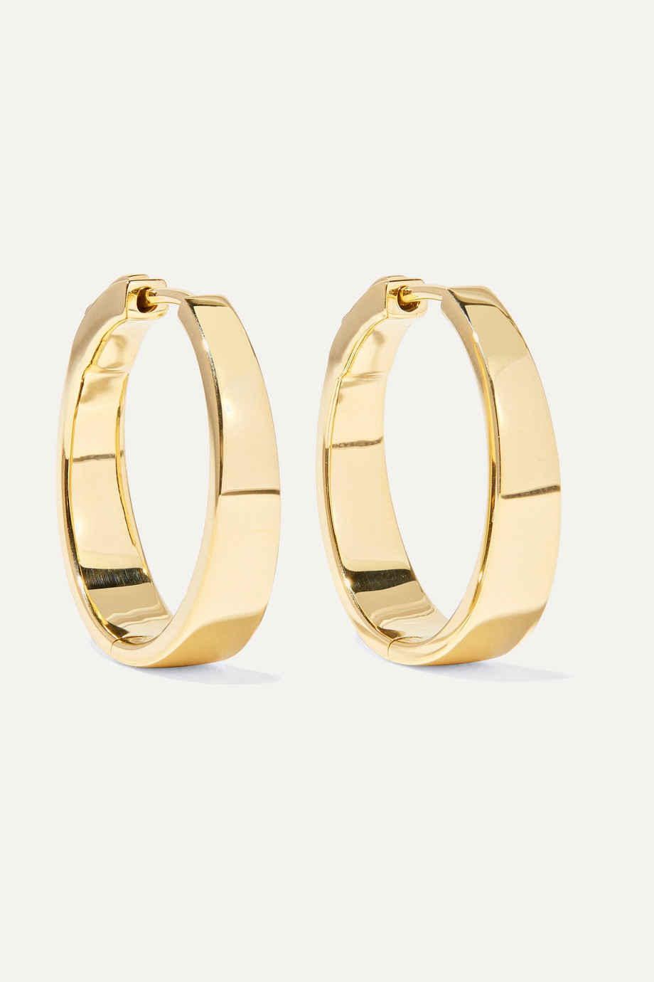 Anita Ko Meryl 18-karat gold hoop earrings