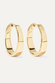 Meryl 18-karat gold hoop earrings