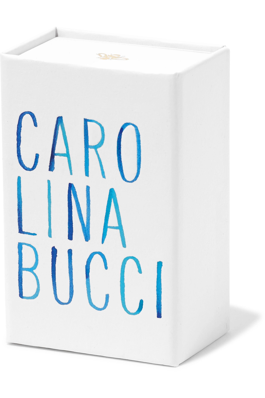 Carolina Bucci Florentine Creolen aus 18 Karat Roségold